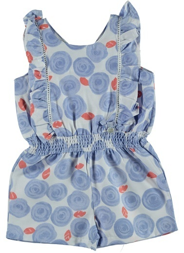 Mininio Elbise Mavi